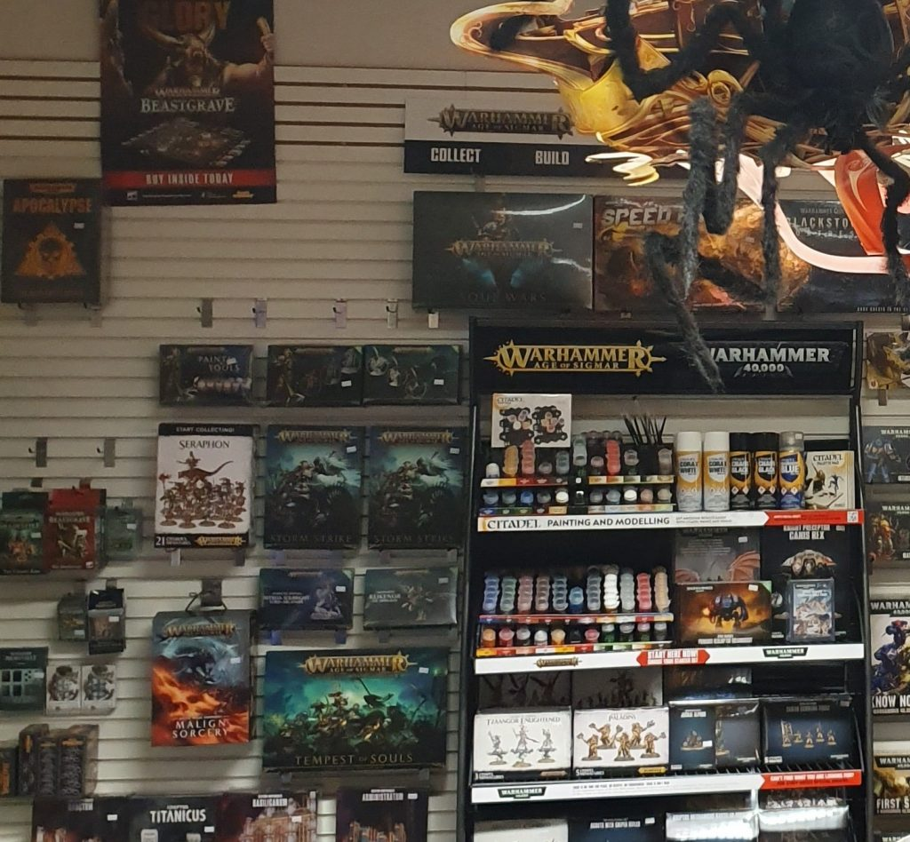 Games workshop goods